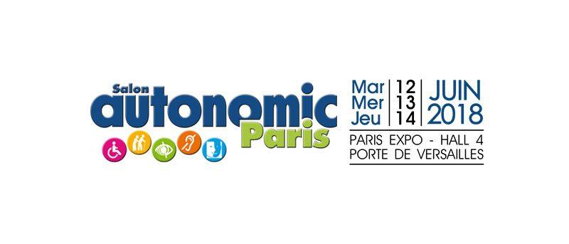 Bannière du salon Autonomic Paris 2018