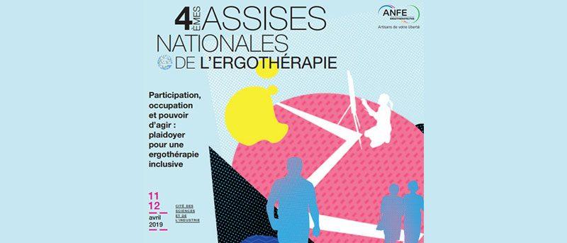 Affiche 4e assises Nationales de l'Ergothérapie 2019