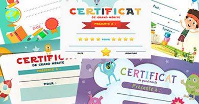 Certificat : bonne année pour un enfant DYS
