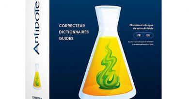 Logiciel de correction de l'orthographe pour dyslexiques Antidote 10