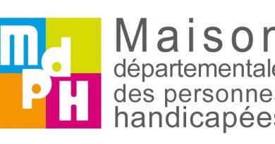 Logo Maisons Départementales des Personnes Handicapées (MDPH)