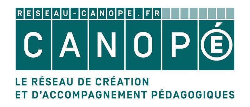 Logo du réseau Canopé Création et Accompagnements Pédagogiques