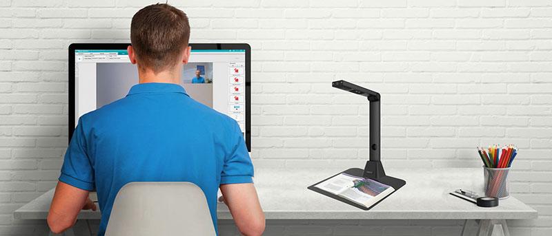 Nouveau produit : IRIScan Desk 5 Caméra scanner de bureau
