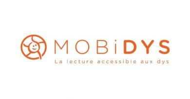 Logo Mobidys - La lecture accessible aux DYS