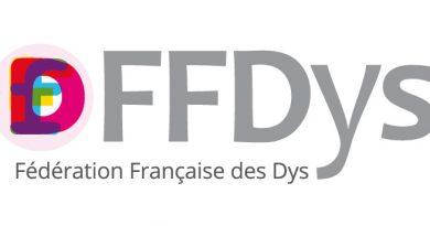 Logo de la FFDys (Fédération Française des Dys)