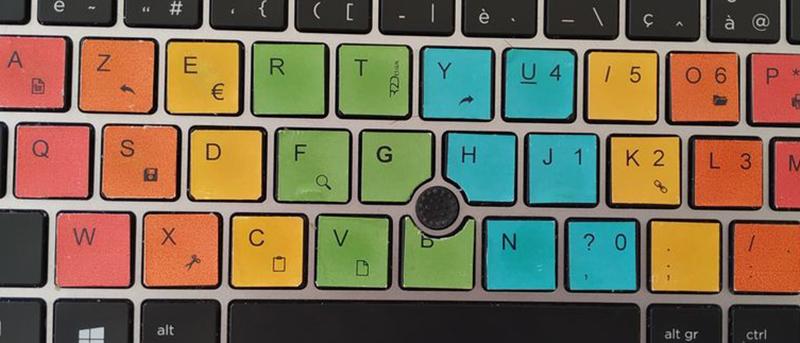 Un « clavier DYS » par @r2dtooldys